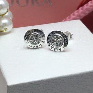 Original pandora signature earrings